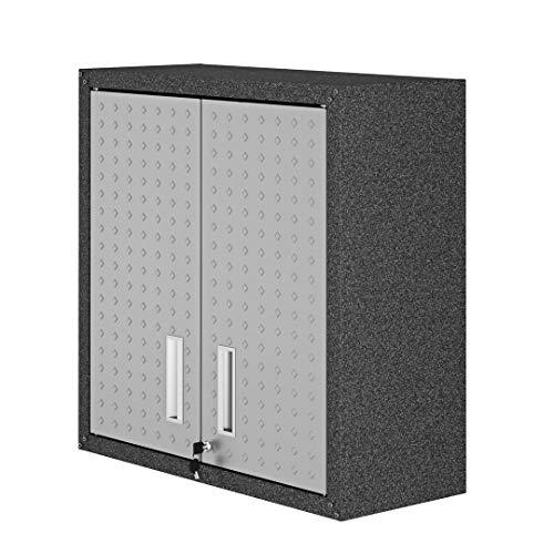 Manhattan Comfort Fortress Collection Modern Designed Floating Storage Garage Cabinet Great For...