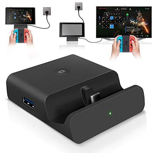 【最新システム&30W高出力対応】Switch ドック 充電スタンド TV出力 切り替え 直接にTV出力 小型 アダプタ...