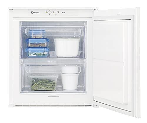 Electrolux EUB2AF60S Mini Congelatore Verticale, Altezza 60 cm, Bianco