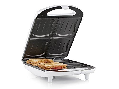 Sandwich Maker Tristar SA-3065 Quattro toast alla volta Rivestimento antiaderente
