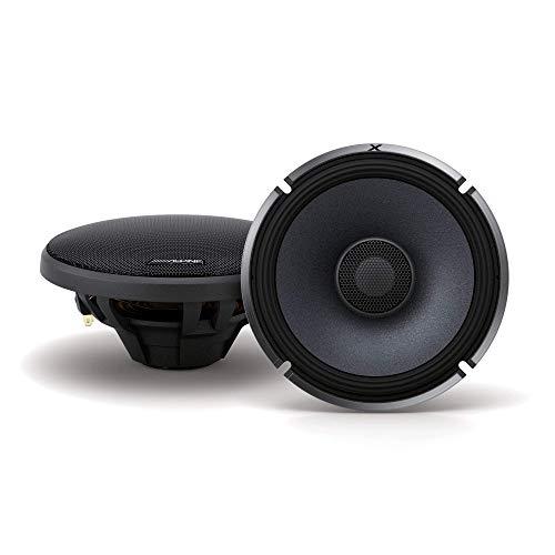 Alpine X-Series 6.5 Inch 330 Watt Coaxial 2-Way Car Audio Speakers, Pair | X-S65
