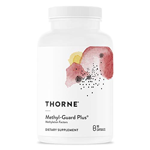 Thorne Research - Methyl-Guard Plus - Methylation Support Supplement with 5-MTHF (Folate) and Vitamins B2, B6, and B12-90 Capsules