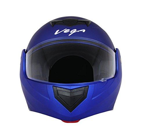 Vega Crux DX Flip-Up Helmet (Dull Blue, L)