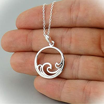 STUNNING long necklaces for women. The magnifying necklace pendant is suitable for any occasion. Our gemstone necklace or personalized necklace would be a cute accessory. GOODLINESS jewelry, such as initial crystal necklace, pink rhinestone pendant n...