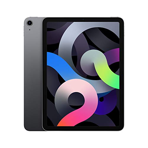 最新 Apple iPadAir (10.9インチ, Wi-Fi, 256GB) - スペースグレイ (第4世代)