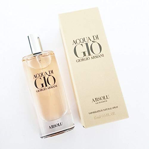Giorgio Armani Acqua di Gio Absolu for Men Eau De Parfum (.17 Ounce)
