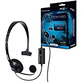 dreamGEAR Broadcaster Wired Headset for the PS4 with Flexible Boom Microphone and Inline Volume/Mute Control