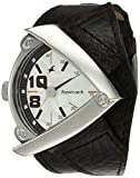 Fastrack Men's Casual Wrist Watch with Analog Function,Quartz Mineral Glass, Water Resistant Leather Strap (Brown 2)