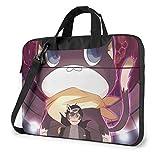 XCNGG Persona 5 Morgana Anime Laptop Hombro Messenger Bag Tablet Computer Storage Mochila Bolso de 13 Pulgadas