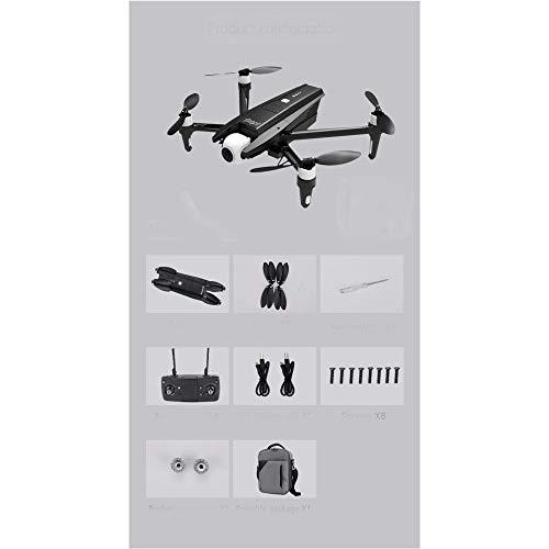 LIZHOUMIL - Mini Drone X15 6K Quadricottero GPS professionale con fotocamera HD a 2 assi motore brushless RC Dron VS SG906 Pro 2 batteria