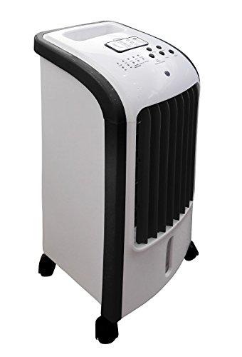 Ardes AR5R05 Eolo Mini Raffrescatore Evaporativo d'Ambiente 3 Livelli di Velocit? Con Ruote Timer e...