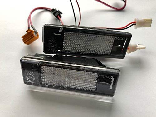 2 x TOP Module SMD LED 18 LED illuminazione targa (307N)