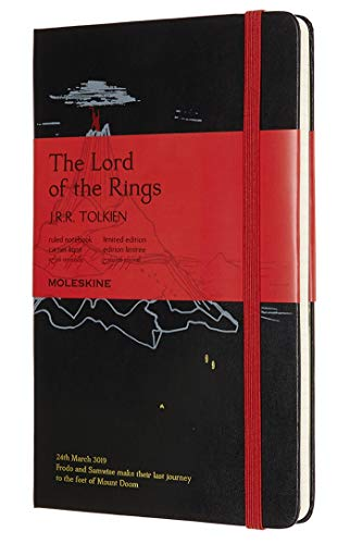 Moleskine Limited Edition Lord Of The Rings Notebook, Hard...