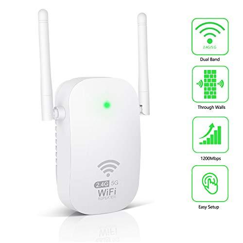 Kosiy WiFi Amplificador-Amplificador Señal WiFi 1200Mbps Repetidor...