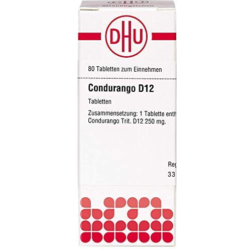 DHU Condurango D12 Tabletten, 80 St. Tabletten