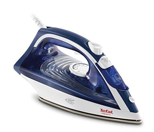 Tefal Maestro 2 FV1845E0 Ferro da stiro a secco e a vapore CeramicGlide Blu, Bianco 2300 W