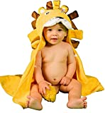 Serviette de Bain Extra-Douce Enfant Bébé Garçon de 0 à 2 ANS Peignoir Enfant...