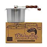 Whirley-Pop Popcorn Popper - Nylon Gear - Silver