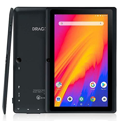 Dragon Touch Tablet da 7 pollici, Android 9.0, processore quad-core, 2 GB di RAM 16 GB di memoria,...