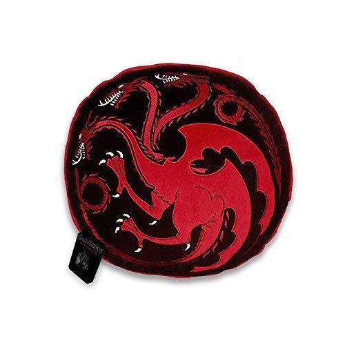 Cojín Casa Targaryen. Juego de Tronos. 35 cm