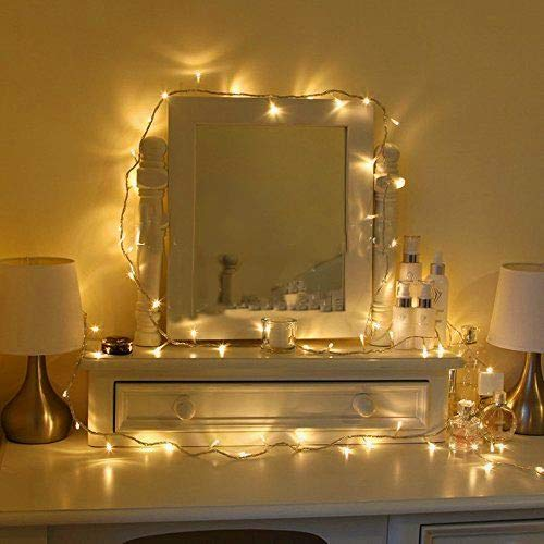 Uping Strisce LED, Luce Calda Bianca,12 Metri, Impermeabile, 100 Singoli LED, Decorativa da Interni...