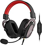 Redragon H510 Zeus Wired Gaming Headset - 7.1 Surround Sound - Memory Foam Ear Pads - 53MM Drivers -...