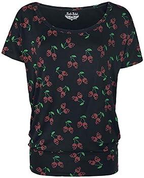 Basics, Fashion & Style, Festival, Rockwear T-Shirt mit folgenden Eigenschaften: Girl-Shirt || Normaler Schnitt || U-Boot || Langlebige Materialien Passform: Wide || Material: Synthetisch Hol dir jetzt ein Style Update für deinen Kleiderschrank!