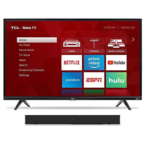 """TCL 43"""" TV & Alto 3 Sound Bar"""