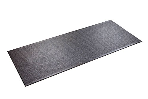 SuperMats Heavy Duty Equipment Mat 30GS Made in U.S.A. for Treadmills Ellipticals Rowing Machines Recumbent Bikes and Exercise Equipment (2.5-Feet x 6-Feet) (30' x 72') (76.20 cm x 182.88 cm) (2)