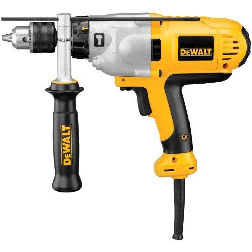 DEWALT Hammer Drill Kit, 1/2-Inch, 10-Amp, Mid-Handle...