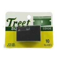 Treet 10 Super Single Edge Razor Blades Pack of 12 'Total 120 Blades'