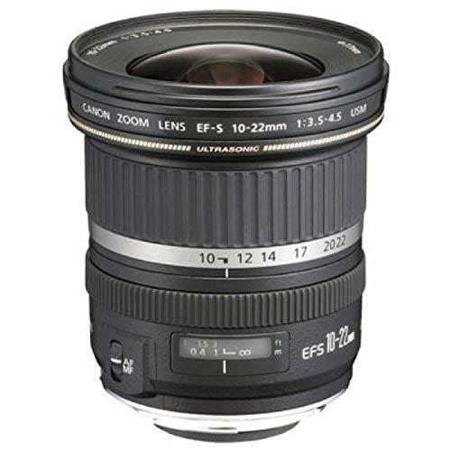 Canon EF-S 10-22mm f/3.5-4.5 USM - Objetivo para Canon (Distancia Focal 10-22mm, Apertura...