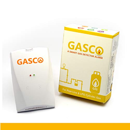 GASCO, GAS AUTOMATIC SECURITY CIRCUIT OPERATOR, DEVICE OF FLAME Lpg Gas Leakage Detector with...