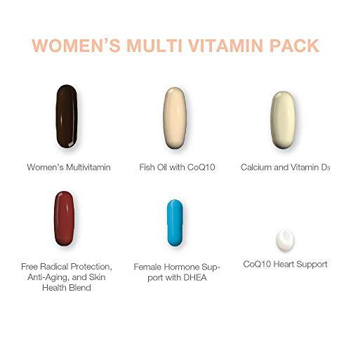 SeroVital Multivitamin Pack for Women - Hair Nails and Skin Vitamins for Women - Women Hormone Support Supplements - DHEA Supplement - Vitamins for Women - 30 Nutripacks 6