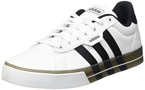 adidas Daily 3.0, Zapatillas de Deporte Hombre, FTWBLA/NEGBÁS/NEGBÁS, 43 1/3 EU