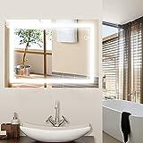 JEOBEST Miroir de Salle de Bains, Armoire Miroir Murale de Salle de Bain...