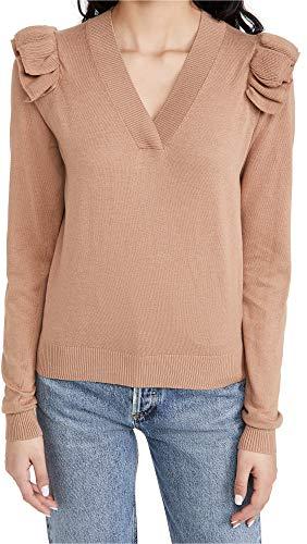41SpFQHsszL Shell: 60% cotton/20% viscose/15% nylon/5% cashmere Fabric: Lightweight fine knit Dry clean