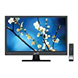 SuperSonic SC-1511H LED Widescreen HDTV 15' Flat Screen with USB Compatibility, SD Card Reader, HDMI & AC/DC Input: Built-in Digital Noise Reduction with HDMI Cable Included (2020 Model)