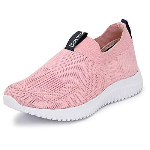 Bourge Women's Micam-102 L.Pink Footwear-7 UK (39 EU) (8 US) (Micam-102-07)