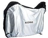 [Amazon限定ブランド] actimo ACTIVE WINNER 自転車カバー 前後子供乗せ対応 ラージサイズ 収納バック付