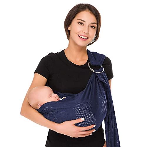 CUBY respirante Porte-bébé avec polyester et rapide Tissus sec intérieur...