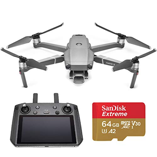 Product Image 1: DJI Mavic 2 Pro Drone with Smart Controller - With 64GB MicroSDXC Card
