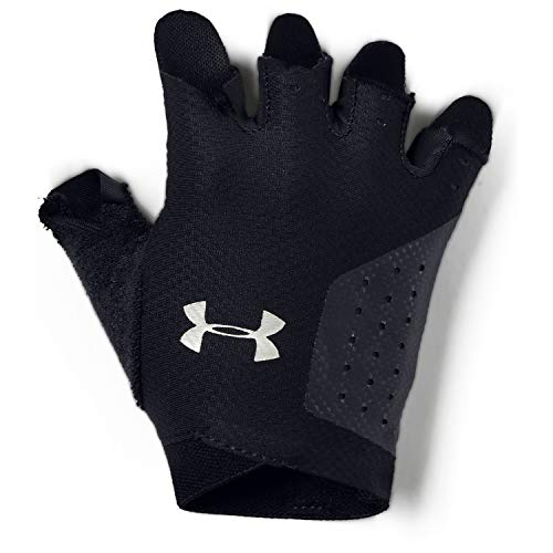 Under Armour Women's Training Glove, Guanti Donna, Nero (Black/Silver), L
