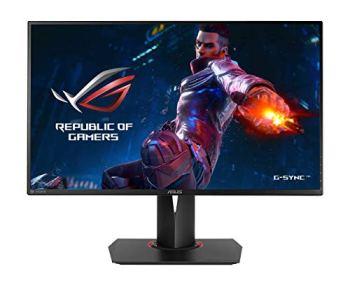 "ASUS ROG Swift PG278QR 27"" Gaming Monitor 1440p 1ms 165Hz DP HDMI G-SYNC Eye Care"