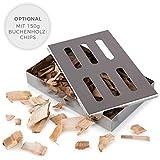 Blumtal - Boîte Fumoir Barbecue - Générateur Fumée Froide - BBQ Gaz,...