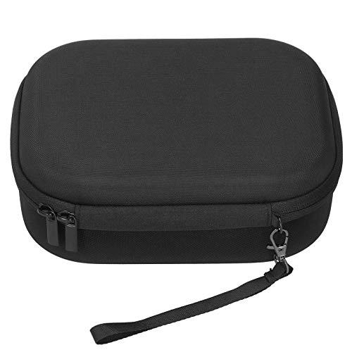 Lantro JS Borsa per Action Cam, Custodia Protettiva per Fotocamera, Forte capacità portante per Donna da Viaggio a casa(Handbag Black)