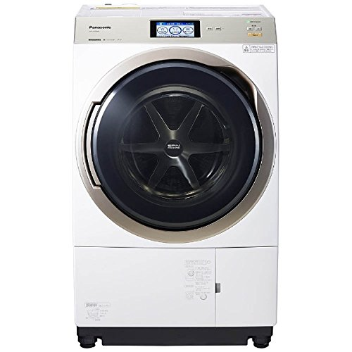 パナソニック ECONAVI(エコナビ)搭載ななめドラム洗濯乾燥機(左開き) クリスタルホワイト NA-VX9800L-W
