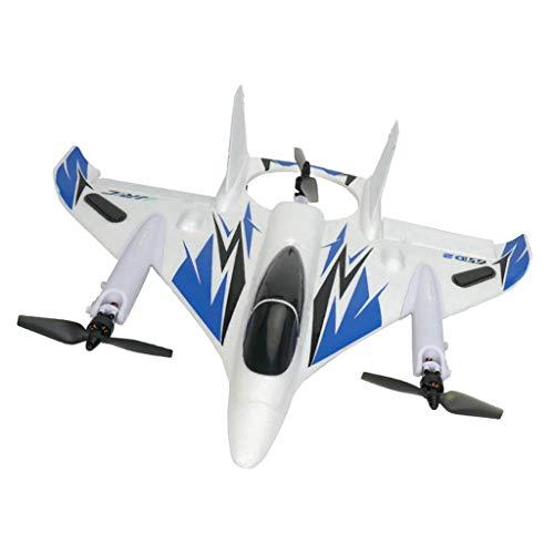 Dailymall Drone Acrobatico Drone RC JJRC M02 Verticale Multifunzione Take Take off Decollo - Blu