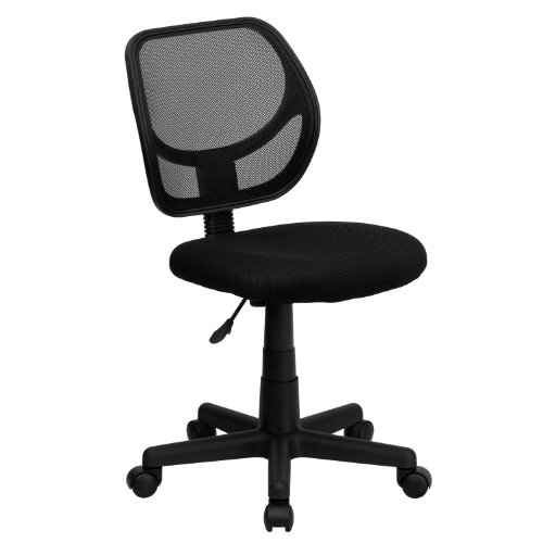 Flash Furniture Low Back Black Mesh Swivel Task Office Chair...
