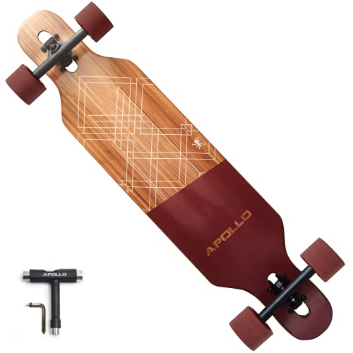 APOLLO Longboard Skateboards - Premium Long Boards for Adults, Teens and Kids....